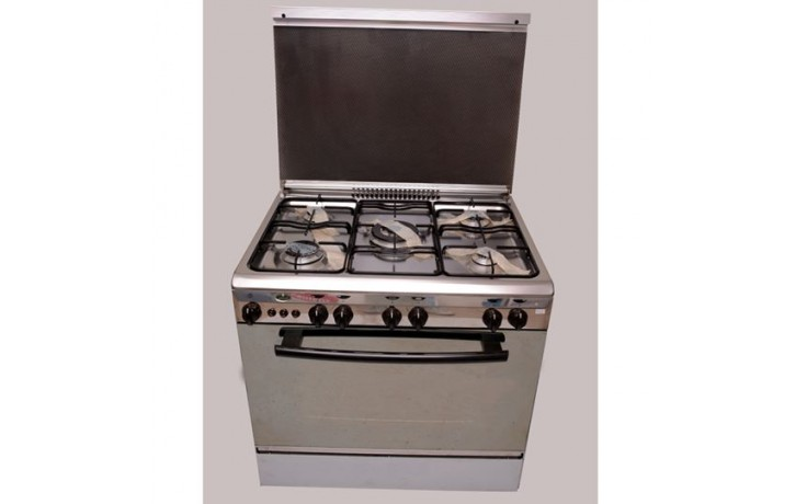 Kiriazi - 8600 - Cooker 5 Burners - Stainless Steel