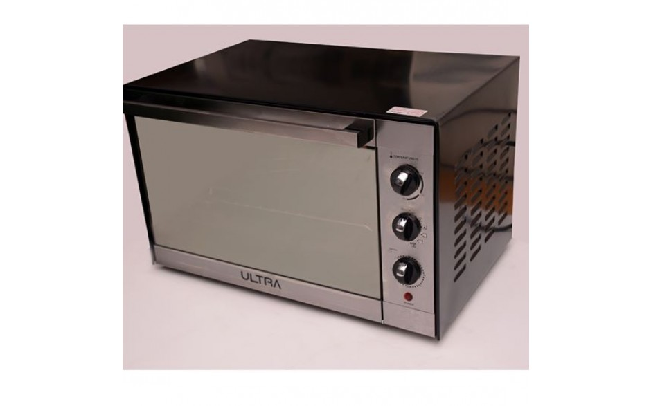 Ultra UO48LFO 48 Liter Electric Oven - 2000 Watt, Black