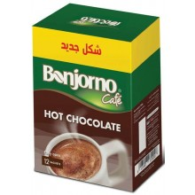 Bonjorno Hot Chocolate Powder 12 Sachets